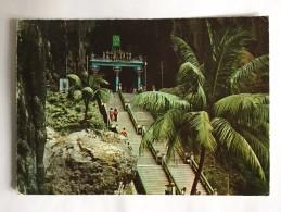 AK MALASYA KUALA LUMPURF MURUGAN TEMPLE PORT KLANG  ANSICHTSKARTE 1977 - Malaysia