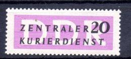 DDR.  AÑO 1956.  Mi Dientsmarken 7N - Yv  Oficial 40 (MNH) - [6] Democratic Republic