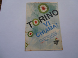 """ITALIA - Cartolina """"Torino Vi Chiama"""" - Viaggiata - Italia"""