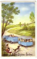 SLIJKENS-BREDENE: GROETEN UIT SAS SLIJKENS-BREDENE (caravane) - Souvenir De...