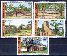 Wallis Et Futuna 1977 Serie N. 203-207 MNH Catalogo € 26,50 - Unused Stamps