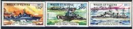 Wallis Et Futuna 1978 Serie N. 210-212 Navi Da Guerra Francesi  MNH Catalogo € 51,50 - Unused Stamps