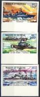 Wallis Et Futuna 1978 Serie N. 210-212 Navi Da Guerra Francesi  MNH NON DENTELLATI Catalogo € 130 - Imperforates, Proofs & Errors
