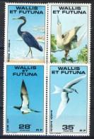 Wallis Et Futuna 1978 Serie N. 217-220 Uccelli MNH Catalogo € 9,25 - Unused Stamps