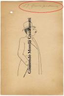 PISA 1900 - Caricatura Di S.E. MORELLI GUALTIEROTTI (San Marcello Pistoiese - Pistoia) - Vecchi Documenti