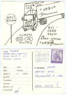 QSL-Karte 3950 Gmünd Zoll Douane CB-Radio-Station Tarbuk Brummi MAN 320 LKW NÖ Card Carte Waldviertel Österreich Radio - QSL-Karten