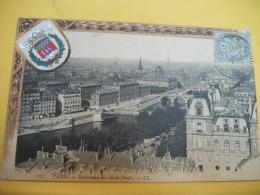 75 1200 - PARIS - PANORAMA DES HUITS PONTS - Puentes