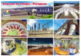 POSTAL PARAGUAY REPRESA DE ITAIPU - Paraguay