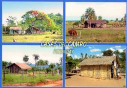 POSTAL PARAGUAY CASAS DE CAMPO RANCHOS DE LA CAMPIÑA - Paraguay