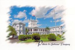 POSTAL PARAGUAY ASUNCION PALACIO DE GOBIERNO - Paraguay
