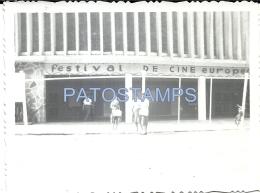 35453 URUGUAY PUNTA DEL ESTE Dto MALDONADO FESTIVAL DE CINE CINEMA EUROPEO 11.5 X 8.5 CM PHOTO NO POSTAL TYPE POSTCARD - Fotografie