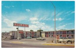 Route 66, Lorlodge Motel Albuquerque New Mexico, C1960s Vintage Postcard - Route '66'