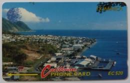 DOMINICA - GPT - 6CDMA - $20 - DOM-6A - Used - Dominica