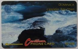 DOMINICA - GPT - 6CDMC - $40 - DOM-6C - Used - Dominica