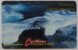 DOMINICA - GPT - 6CDMC - $40 - DOM-6C - Very Fine Used - Dominica