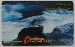 DOMINICA - GPT - 6CDMC - $40 - DOM-6C - Very Fine Used