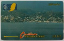 GRENADA - GPT - 10CGRE - $10 - Used - Grenada