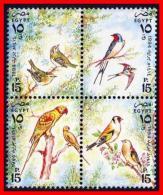 EGYPT 1994 BIRDS SC#1551 MNH PARROTS (E15) - Parrots