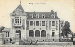 Gray (Haute-Saone) - Caisse D´Epargne - Petite Animation - Edition Ch. Château - Banks