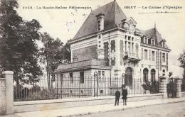 Gray (La Haute-Saone Pittoresque) - La Caisse D´Epargne - Petite Animation - Carte C.L.B. N°2058 - Banks