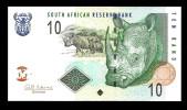 SOUTH AFRICA   : 10 Rand - 2009 - UNC - Sudafrica