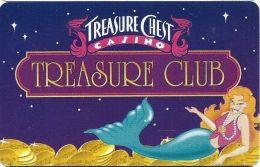 Treasure Chest Casino Kenner, LA - CCS Manufacturer's Sample Slot Card - Casino Cards