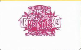 Treasure Chest Casino Kenner, LA - CCS Manufacturer´s Sample Slot Card - Casino Cards