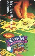Treasure Chest Casino Kenner, LA - Slot Card - 5 Lines In Reverse Paragraph - Casino Cards