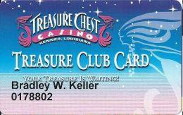 Treasure Chest Casino Kenner, LA - Slot Card - Casino Cards