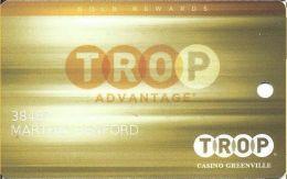 Trop Casino Greenville MS Slot Card - Casino Cards