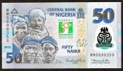 NIGERIA  :50 NAIRA -  2010 - COMMEMORATIVE -  UNC - Nigeria
