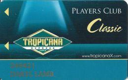 Tropicana Express Casino Laughlin NV - Slot Card - Casino Cards