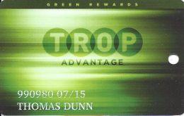 Tropicana Express Casino Laughlin NV - Slot Card With C-16597A - Casino Cards