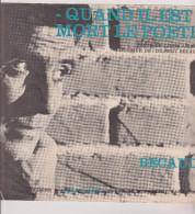 (GB8)quand Il Est Mort Le Poete , GILBERT BECAUD , Ainsi Que Musique , Texte LOUIS AMADE - Partitions Musicales Anciennes