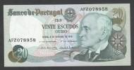 PORTOGALLO (PORTUGAL) : 20 Escudos -1978  - P176b  - UNC - Portogallo