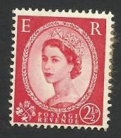 Great Britain, 2 1/2 P. 1959, Sc # 357, Mi # 322, Used - Gebruikt