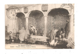 Rabat-Fontaine Publique,Boulevard El-Alou-(B.1666) - Rabat