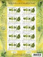 Nouvelle Calédonie 2016 Palmiers Et Conifères ( Feuille Complète) - Nueva Caledonia