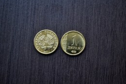 Tajikistan 1 Diram 2011 Km35 UNC  Asian Coin - Tajikistan