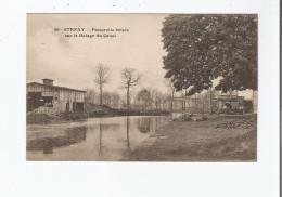 STENAY 40 PASSERELLE BRISEE SUR LE HALAGE DU CANAL - Stenay