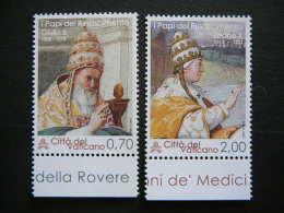 Vatican Vatikan  2013 MNH # Mi. 1782/3 The Popes Of The Renaissance - Vaticano (Ciudad Del)