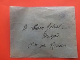 LETTRE AVEC CACHET A IDENTIFIER FRANCHISE  =>DEPARTEMENTAL -SECTION ALBI --PR VIVIEN GABRIEL MALIPERE COMMUNE DE RIVIERE - Marcophilie (Lettres)