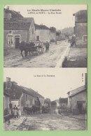 LIFFOL LE PETIT : La Rue Haute Et La Rue De La Fontaine. 2 Scans.  Edition A . H - Sonstige Gemeinden