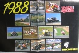 CALENDARIO 1988 - MOTOSPRINT - Formato Grande : 1981-90