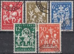 Holanda 1961 Nº 740/44 Usado - 1949-1980 (Juliana)