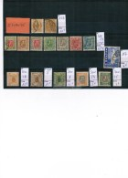 A2-4 - Islande - Collection 15 Timbres - Collections, Lots & Séries