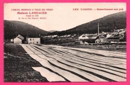 Blanchiment Sur Pré - Lingerie Broderies & Toiles Des Vosges Maison LANDAUER Fondée En 1881 à Roubaix - France