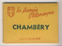 73 -  Chambéry      Carnet / Pochette      Complet De 10 Vues 9x6,5 - Chambery