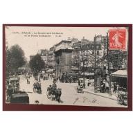 Paris  Le Boulevard St Denis Et La Porte St Martin  1256  CM - Distretto: 10