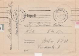 Feldpost WW2: To Reichsluftfahrtsministerium In Berlin P/m Wien 1 5.3.1942 - Letter Inside  (G84-18) - Militaria